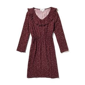Robe Cora Bordeaux
