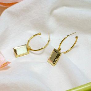 [정은지, 신비, 채령 착용] Cadre earring Gold/Silver