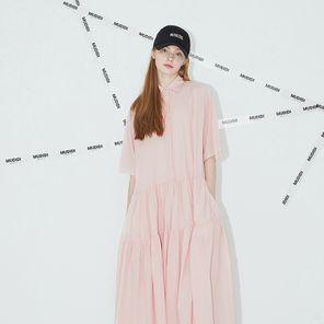 [윤아,문정원,차예련,오연서,한지혜,정채연 착용] 무디디 롱 플리츠 드레스 004 핑크